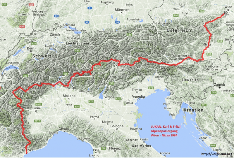 Lukan-Alpenspaziergang-Route