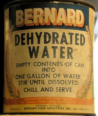 Leichtes Wasser zum Mitnehmen